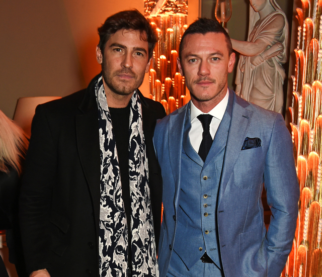Men's London Collections opening party