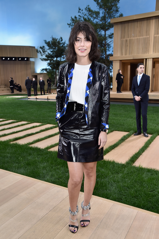 Alessandra Mastronardi at Chanel Couture SS16 Paris