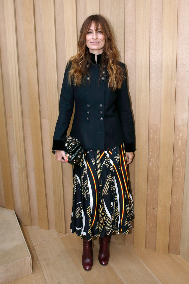 Caroline de Maigret at Chanel Couture SS16 in Paris
