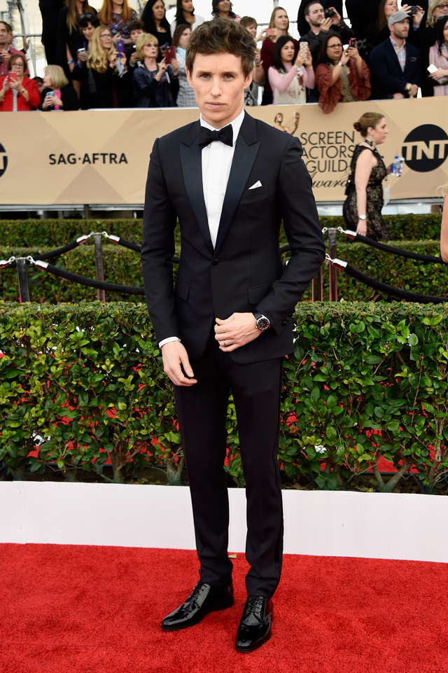 Red carpet: The 2016 Screen Actors Guild Awards (фото 12)