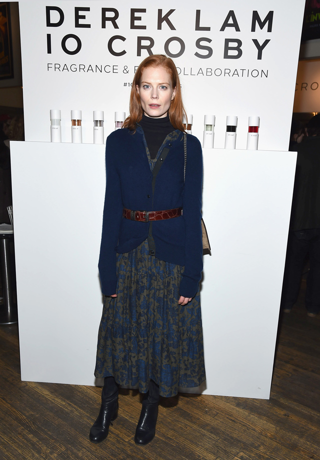 Derek Lam 10 Crosby Film & Fragrance launch