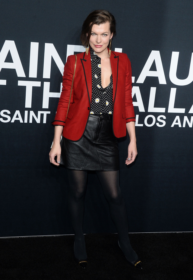 Saint Laurent at the Palladium: The guests (фото 2)