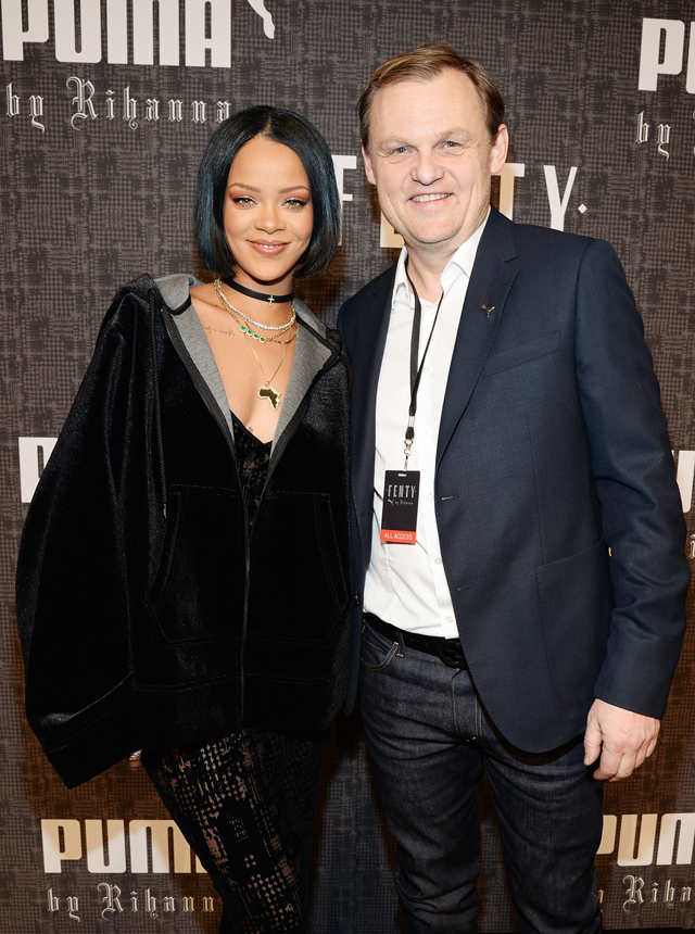 New York Fashion Week: The guests at Rihanna's Fenty x Puma (фото 1)