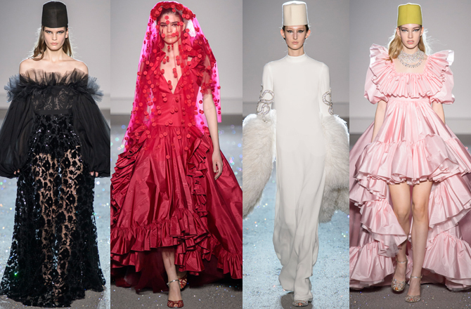Paris Haute Couture Fashion Week S/S'19: Day two highlights (фото 2)