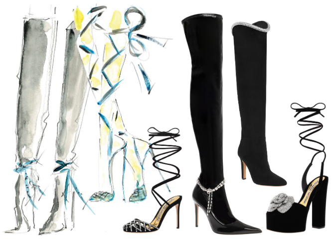 This just in: Giuseppe Zanotti to design Alexandre Vauthier footwear (фото 1)