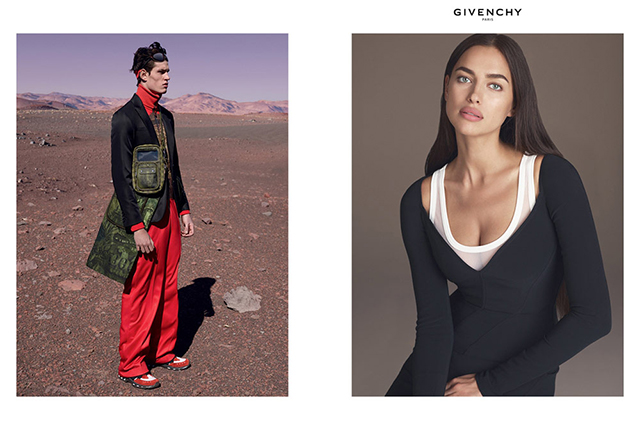 First look: Irina Shayk fronts Givenchy's SS17 campaign (фото 2)
