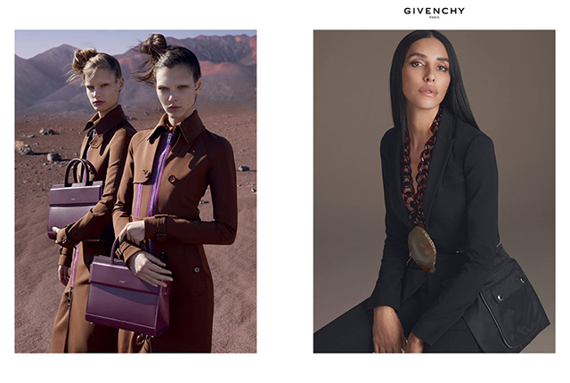First look: Irina Shayk fronts Givenchy's SS17 campaign