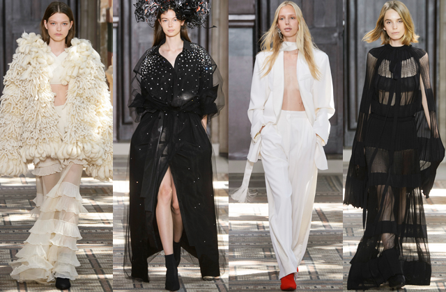 Paris Haute Couture Fashion Week F/W'18: Sonia Rykiel and Givenchy (фото 1)
