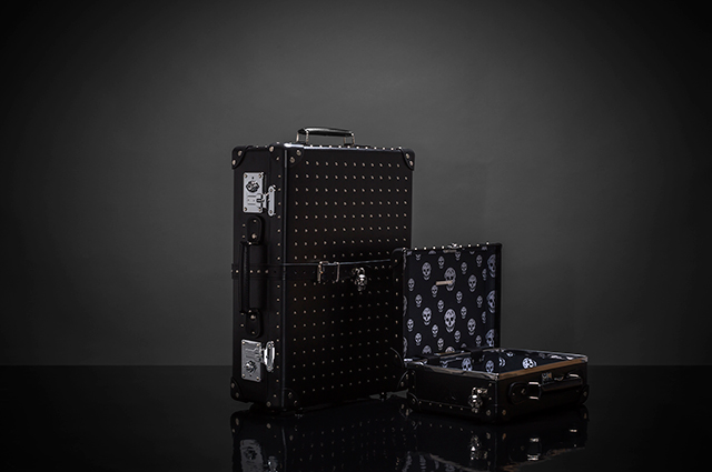 Alexander McQueen x Globe-trotter travel luggage collection