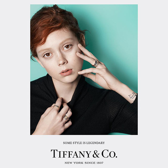 Grace Coddington's first ad campaign for Tiffany & Co. (фото 3)