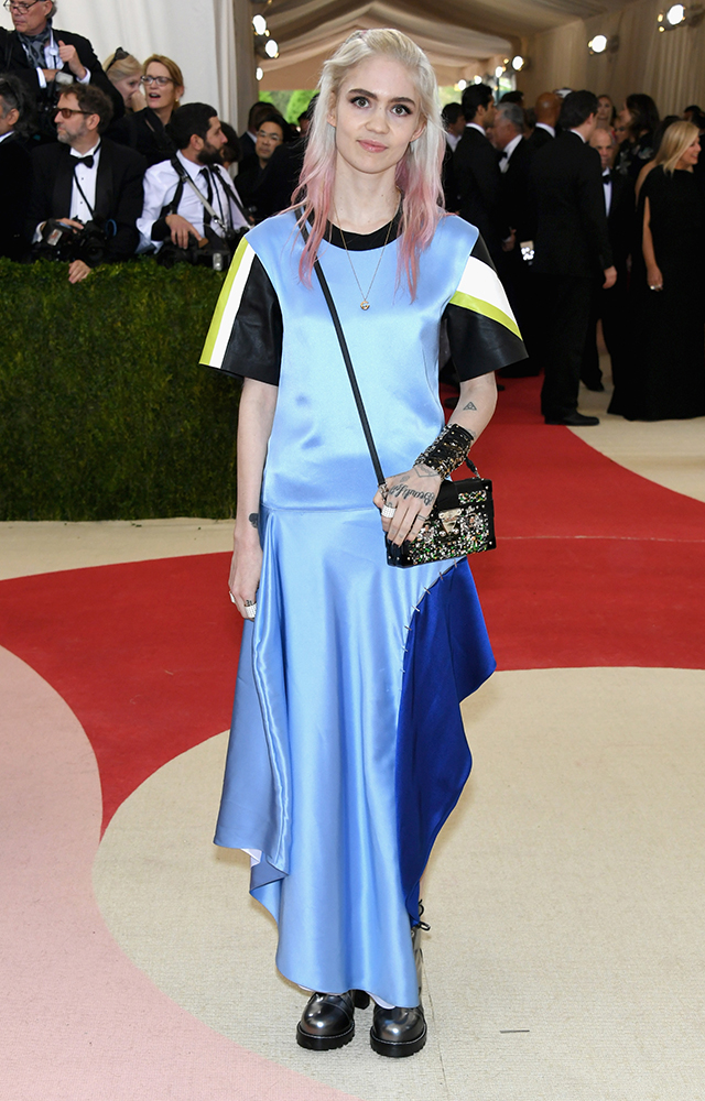 Grimes in in Louis Vuitton