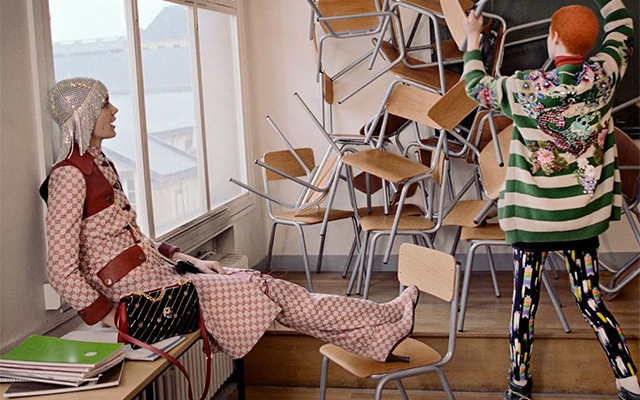Gucci's Pre-Fall '18 campaign is finally here (фото 1)