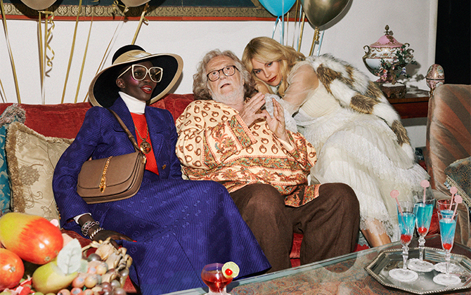 Gucci serves up a party for its Resort 2020 campaign and everyone is invited! (фото 2)