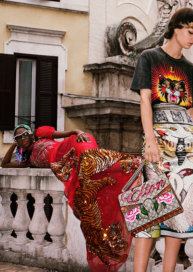 Gucci SS17: Alessandro Michele unveils Wild in Rome campaign (фото 17)