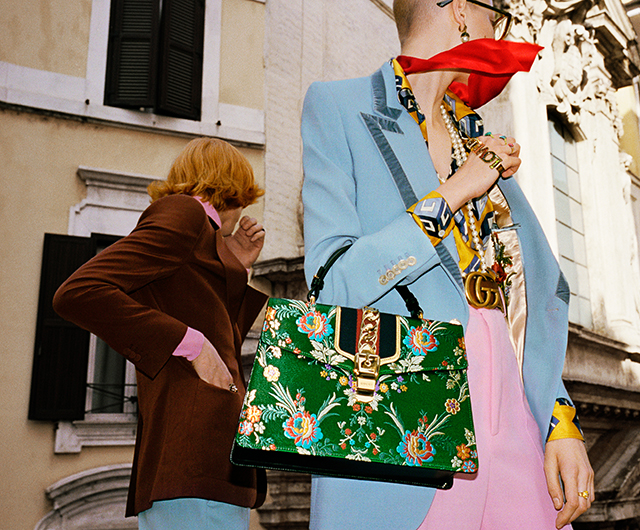 Gucci SS17: Alessandro Michele unveils Wild in Rome campaign (фото 2)