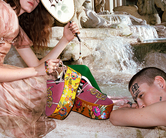 Gucci SS17: Alessandro Michele unveils Wild in Rome campaign (фото 6)