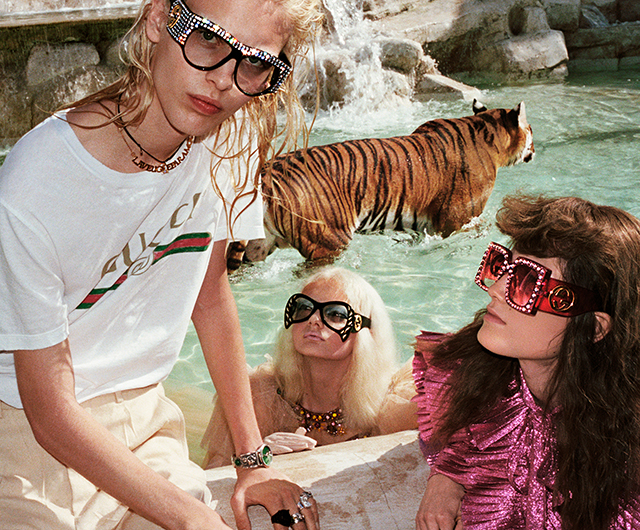 Gucci SS17: Alessandro Michele unveils Wild in Rome campaign (фото 9)