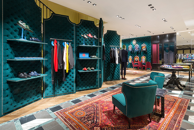 Discover Gucci's new flagship store in The Dubai Mall extension