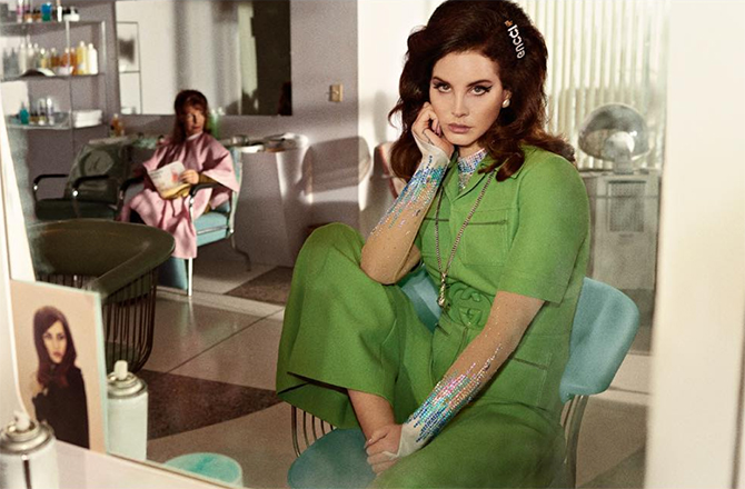 Lana Del Rey and Jared Leto's debut Gucci campaign has landed (фото 1)