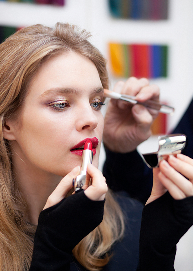 Natalia Vodianova's Guerlain holiday collection