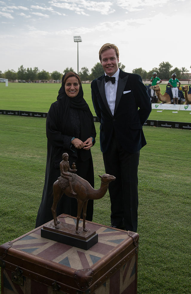 Emirati and Indian Royalty mark the start of the 2015 British Polo Day