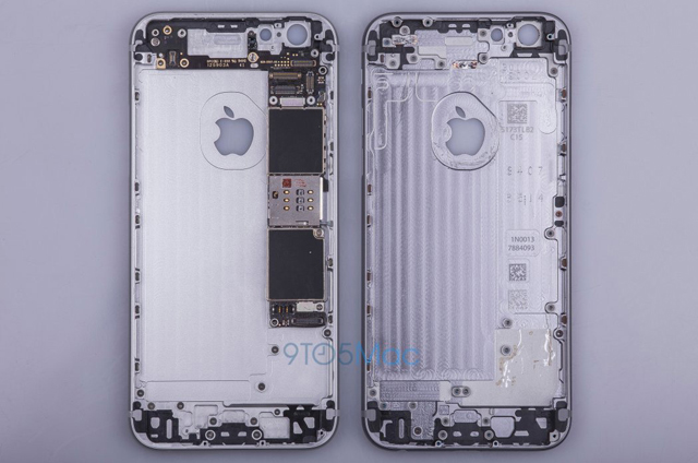 Here are the first leaked images of Apple's iPhone 6S (фото 1)