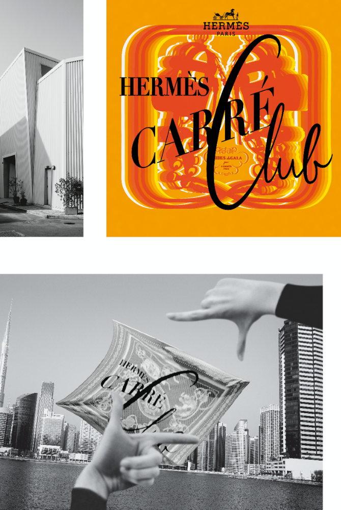 The Hermès Carré Club is coming to Dubai (фото 1)