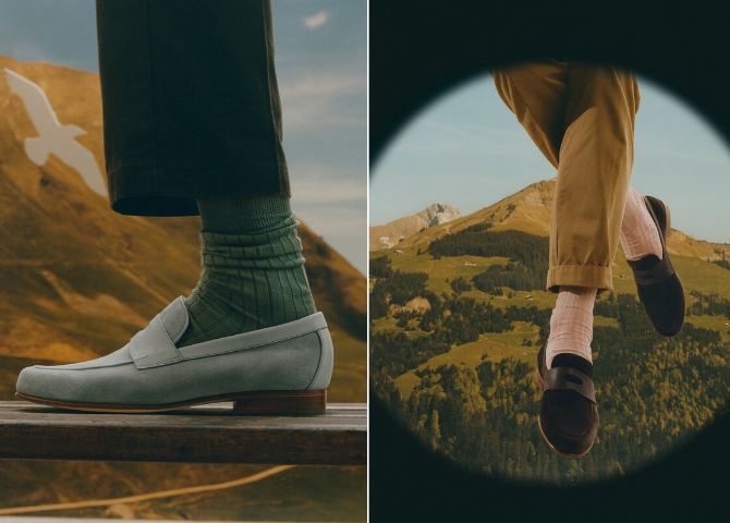 Men, meet Hendra, the latest addition to the John Lobb casual offer (фото 1)