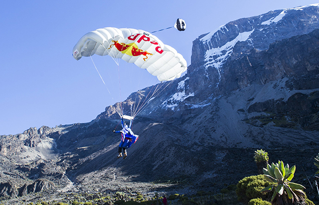 Historic Base Jump Red Bull