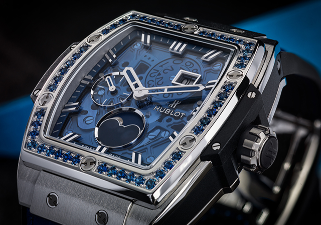 Hublot's Spirit of Big Bang Moonphase collection Baselworld '17