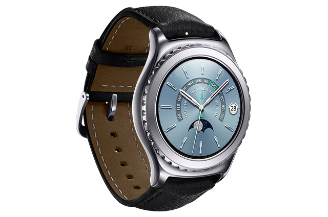 Samsung Gear S2 in black titanium