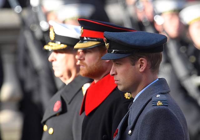 British royal Remembrance Sunday