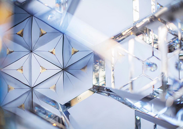 Dubai Design Week: Swarovski and Emirati designer showcases Kaleidoscopic Installation