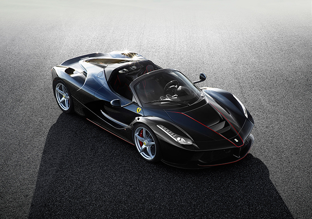 First look at the special edition LaFerrari (фото 1)