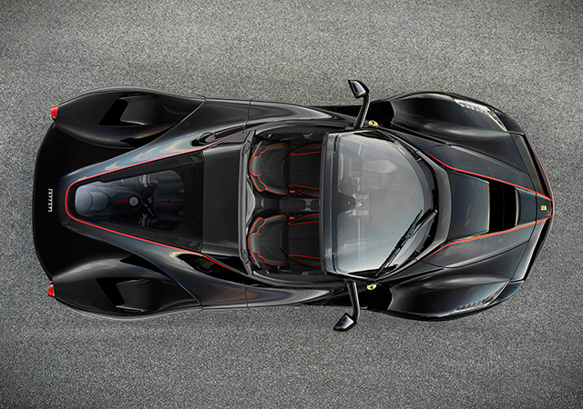 First look at the special edition LaFerrari