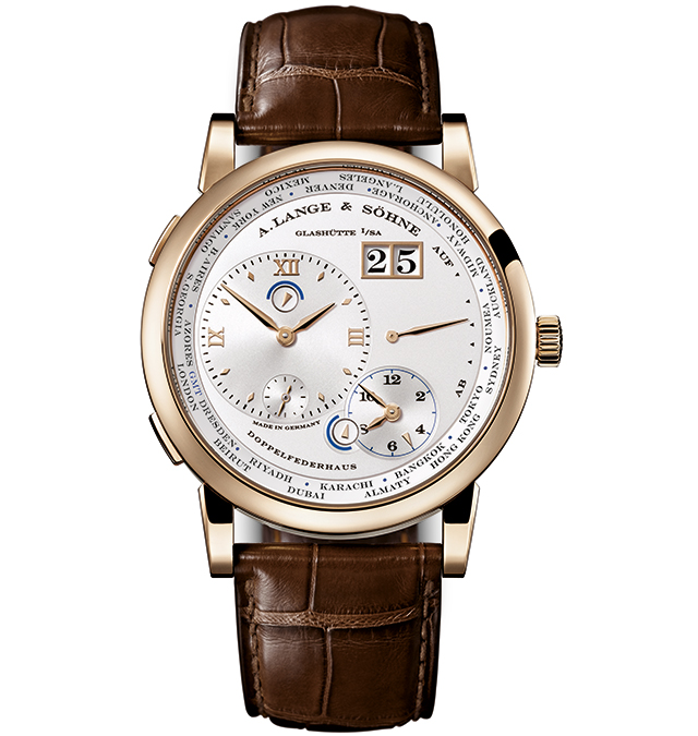 A. Lange & Söhne Lange 1 Time Zone honey gold edition