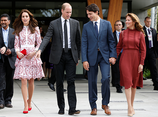 British royal visit to Canada Vancouver