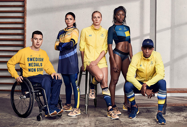 Sweden H&M Olympic collection