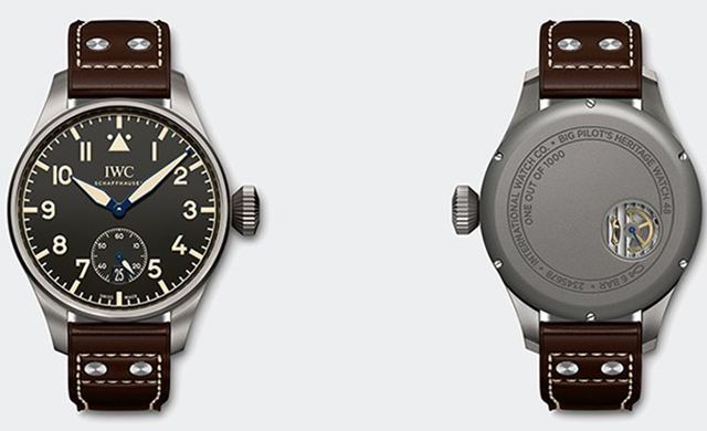 Introducing the limited edition IWC Big Pilot's Heritage Watches (фото 1)