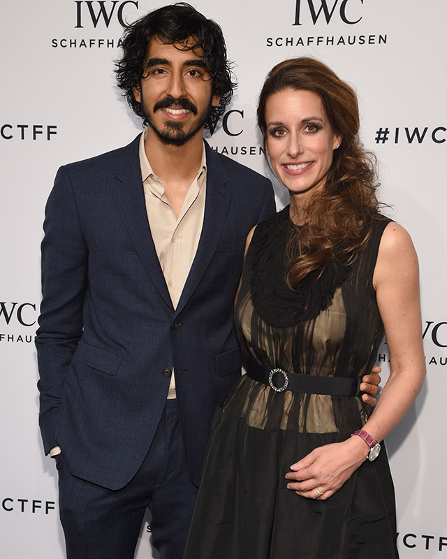Dev Patel and Franziska Gsell