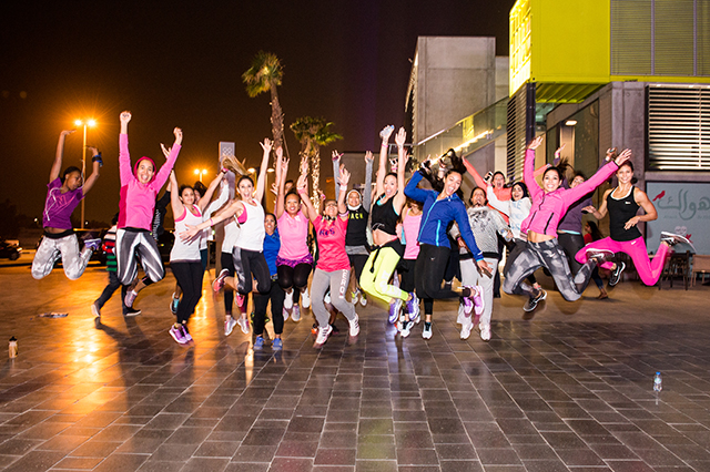 Fatma Al Nabhani headlines Nike event celebrating International Women's Day