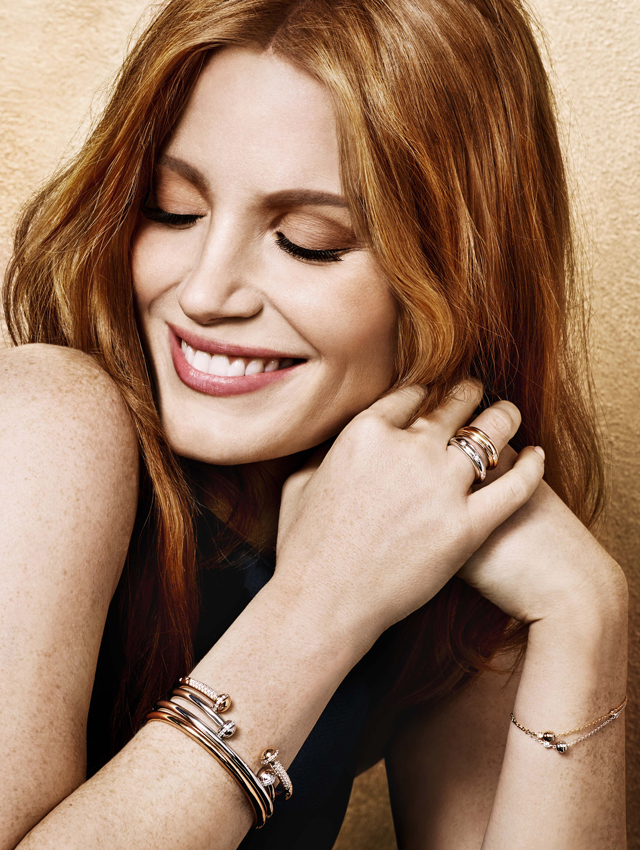 Jessica Chastain For Piaget Buro 24 7