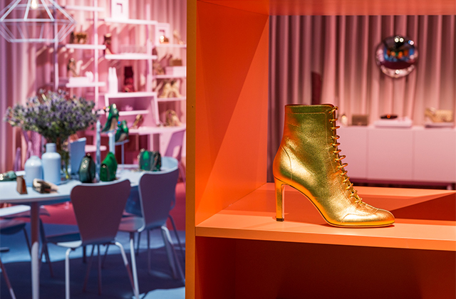 Inside Jimmy Choo's Fall/Winter '17 presentation during MFW