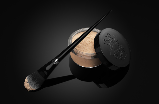 Kat Von D Lock-It Setting Powder and Brush