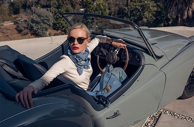 Kate Bosworth takes on Tory Burch's Gemini Link (фото 2)