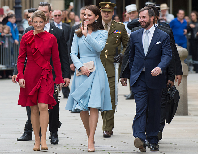 Kate Middleton Luxembourg tour 2017