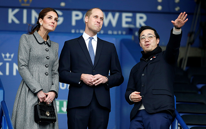 Prince William and Kate Middleton visited Leicester on an official visit yesterday (фото 1)