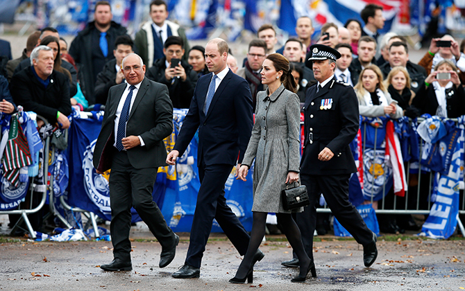 Prince William and Kate Middleton visited Leicester on an official visit yesterday (фото 3)