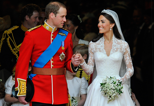 The Duke and Duchess of Cambridge celebrate seventh wedding anniversary (фото 1)