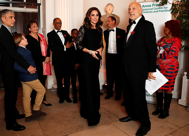 Kate Middleton and Peter Fonagy
